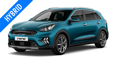 Kia Niro Self Charging Hybrid Car