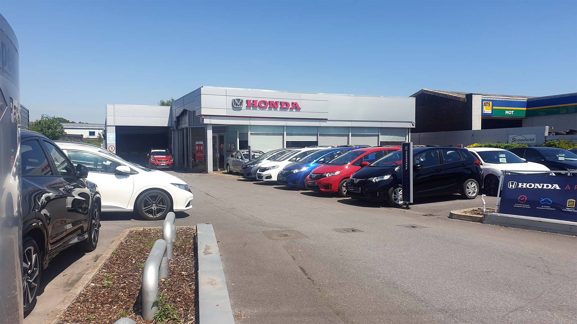 Visit Speedwell Honda in Newton Abbot | New & used car sales, car servicing, parts and accessories