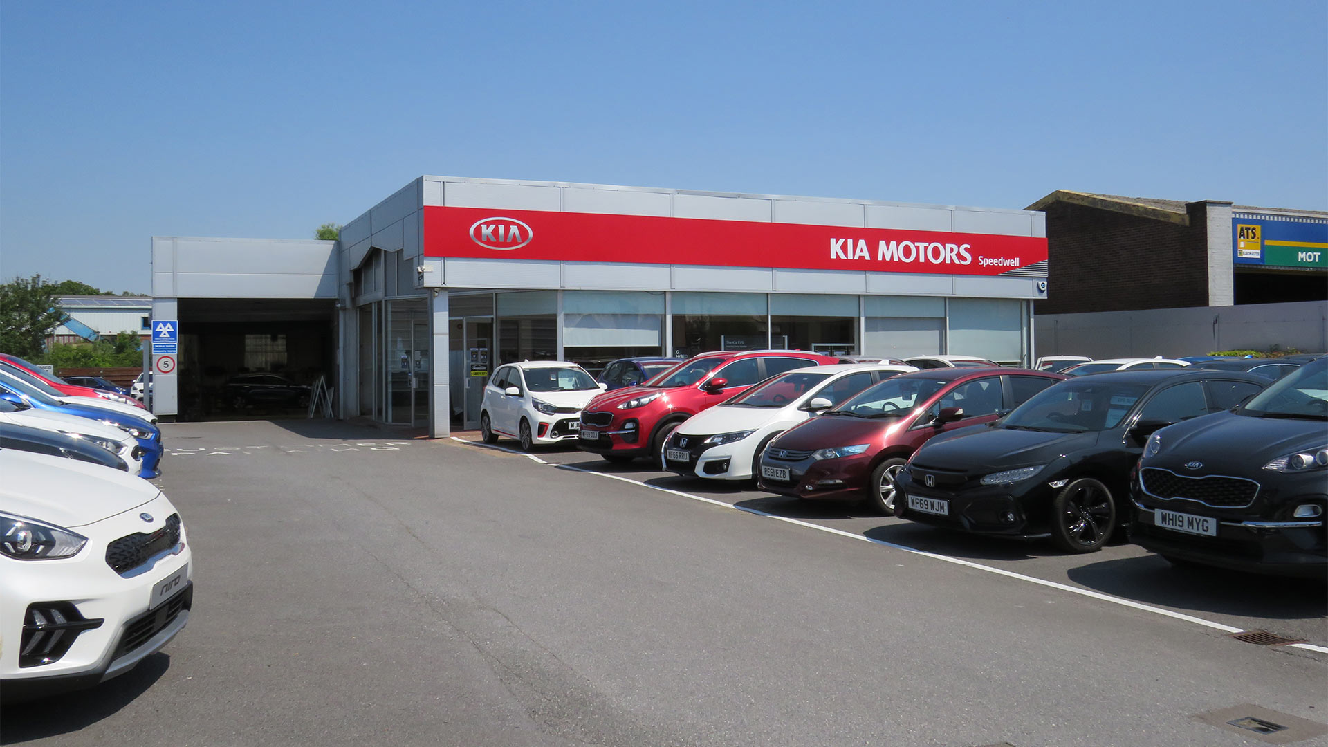 Visit Speedwell Kia in Paignton | New & used car sales, car servicing, parts and accessories
